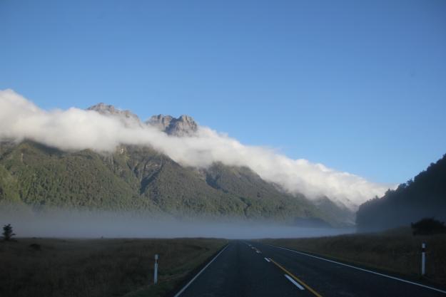 new zealand by campervan - open road